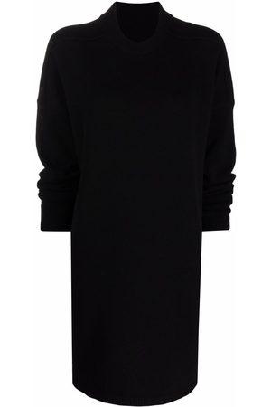 Rick Owens Roll-neck cashmere jumper dress