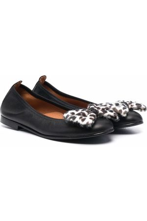 CLARYS Bow-detailed ballerina shoes