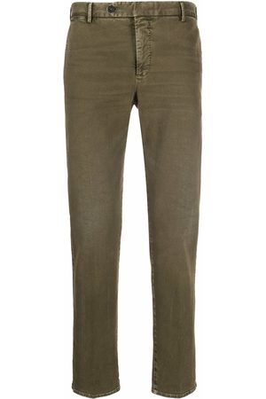 PT01 Washed slim-fit trousers