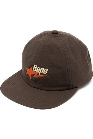 A Bathing Ape Bape-embroidered cap