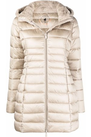 save the duck Women Puffer Jackets - Quilted-finish padded coat - Neutrals