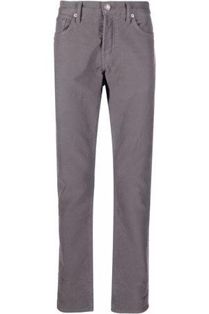 Tom Ford Men Skinny Pants - Slim-cut trousers - Grey