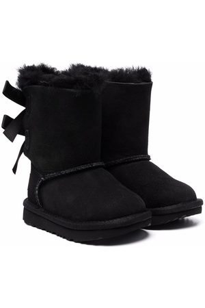 UGG Girls Snow Boots - Bailey Bow II boots