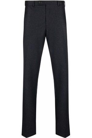 LUIGI BIANCHI MANTOVA Men Formal Pants - Mid-rise tailored virgin-wool trousers