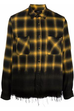 AMIRI Men Shirts - Check-print cotton shirt