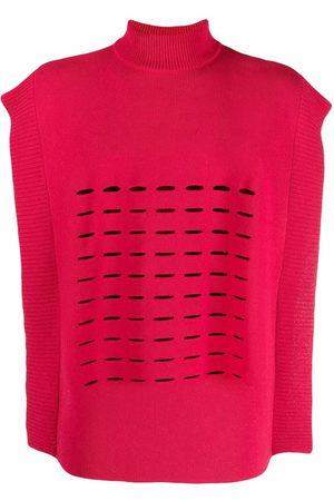 A BETTER MISTAKE Swat cut-out fine knit vest - 20