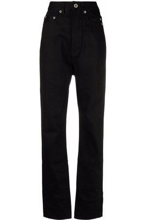 Rick Owens High-waisted straight-leg trousers