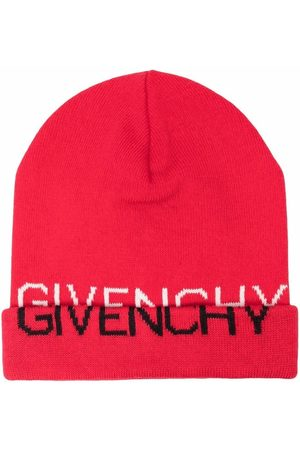Givenchy Logo-print knitted beanie