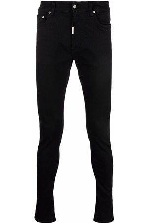 Represent Skinny-cut straight-leg jeans