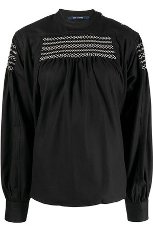 SOFIE D'HOORE Women Blouses - Embroidered detail blouse