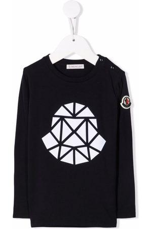 Moncler Logo-print stretch-cotton T-shirt