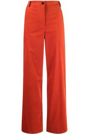 Patrizia Pepe Straight-leg mid-rise trousers