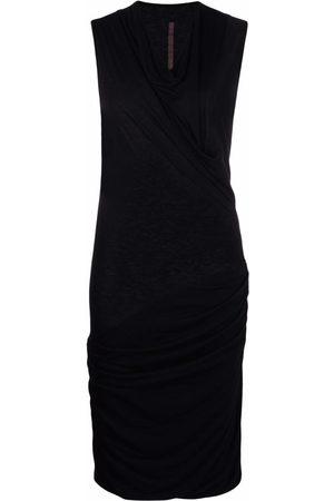 RICK OWENS LILIES Women Party Dresses - Draped mini dress