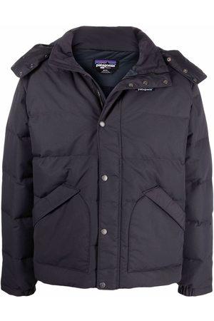 Patagonia Men Jackets - Downdrift down-filled hooded jacket