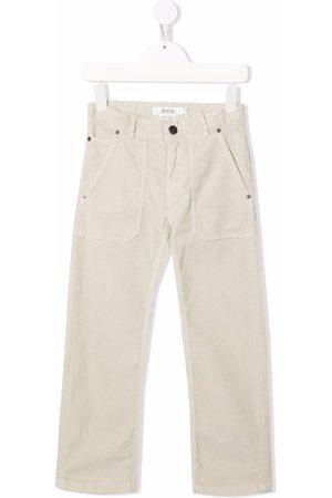 BONPOINT Corduroy straight-leg trousers - Neutrals