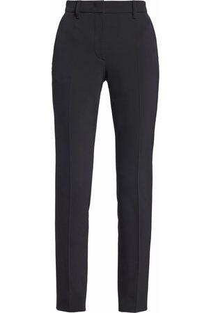 Prada High-waisted slim-cut trousers