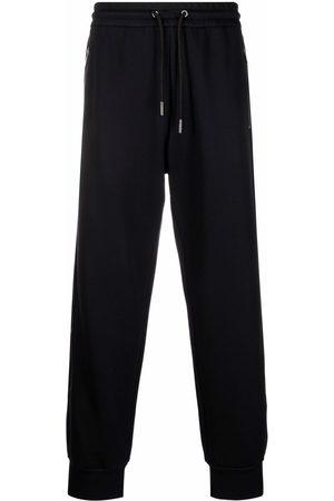 Armani Men Sweatpants - Drawstring straight-leg track pants