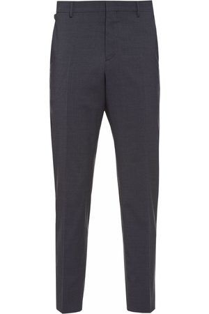 Prada Men Formal Pants - Tailored stretch trousers - Grey