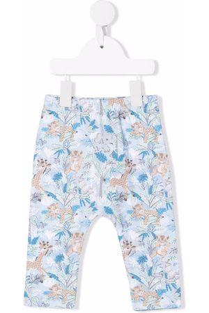 Kenzo Baby Leggings - Jungle print trousers