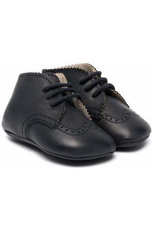 GALLUCCI Lace-up pre-walker boots