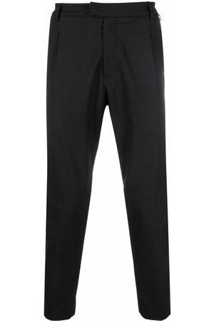 LOW BRAND Men Formal Pants - Pleat-detail virgin wool-blend tailored trousers
