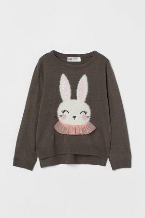 H&M Kids Sweaters - Motif-detail Knit Sweater