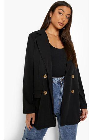 Boohoo Women Blazers - Womens Luxe Matte Satin Fluid Fit Blazer - - 4
