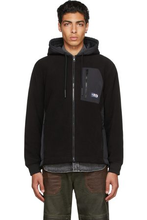 Diesel Men Fleece Jackets - Fleece S-Teder Jacket