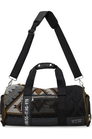 Diesel Men Luggage - Paneled Yavi Bag