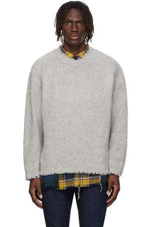 R13 Men Sweatshirts - Shaggy Oversized Sweater