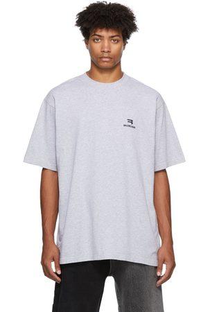 Balenciaga Men T-shirts - Sporty Vintage Logo T-Shirt