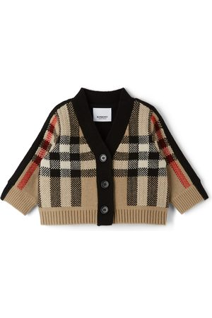 Burberry Cardigans - Baby Cashmere Check Dianne Cardigan