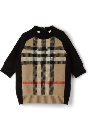 Burberry Baby Cashmere Check Dianne Dress