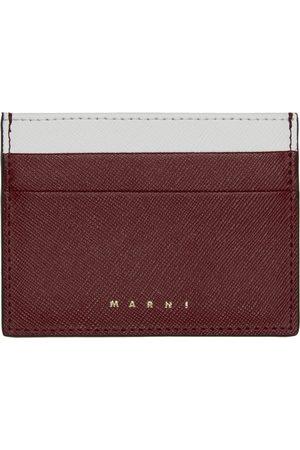 Marni Men Wallets - Saffiano Leather Card Holder