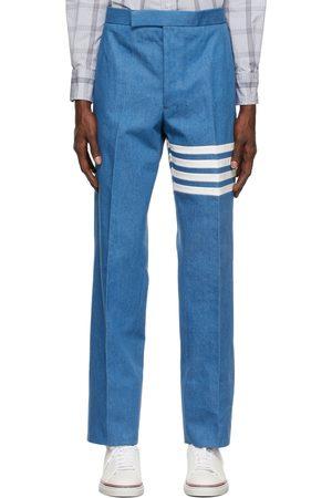 Thom Browne Men Pants - Denim 4-Bar Classic Trousers