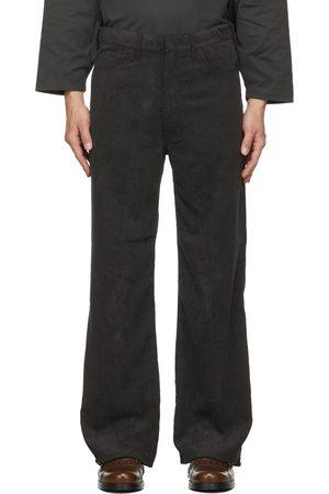 Sasquatchfabrix. Corduroy Flare 5 Pocket Trousers