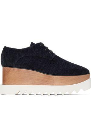 Stella McCartney Women Formal Shoes - Elyse Corduroy Platform Derbys