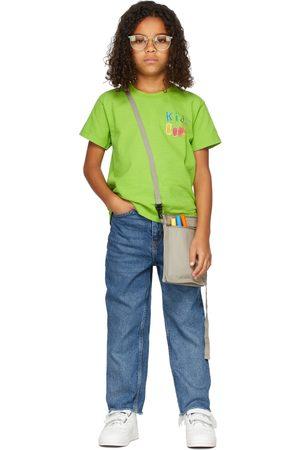 Kids Worldwide SSENSE Exclusive Kids 'Kids Rule' T-Shirt