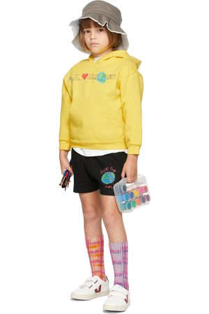 Kids Worldwide Hoodies - SSENSE Exclusive Kids 'I Love The Earth' Hoodie