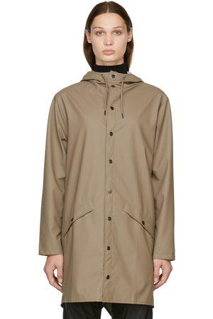 Rains Women Rainwear - Waterproof Long Rain Jacket