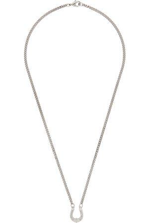 MARCELO BURLON Men Necklaces - Horseshoe Pendant Necklace