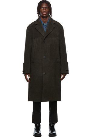 WOOYOUNGMI Oversized Wool & Cashmere Long Coat