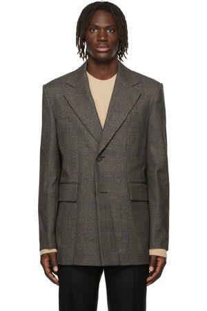 WOOYOUNGMI Wool Pocket Detail Blazer