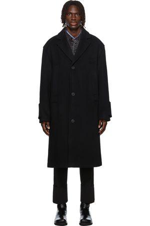 WOOYOUNGMI Men Long sleeves - Oversized Wool Long Coat
