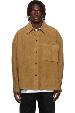 WOOYOUNGMI Oversized Corduroy Shirt