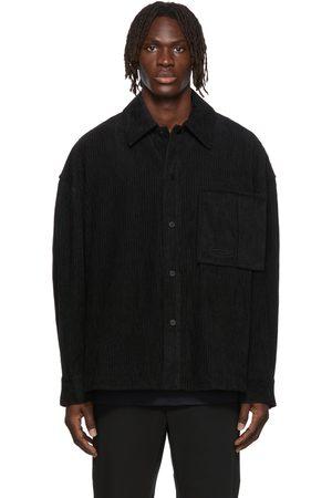 WOOYOUNGMI Men Casual - Oversized Corduroy Shirt