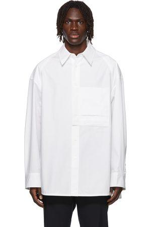 WOOYOUNGMI Men Shirts - One-Pocket Shirt