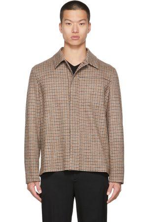 Harris Wharf London Men Blazers - Beige Wool Western Jacket