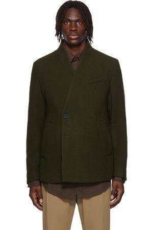 WOOYOUNGMI Men Blazers - Off-Set Wool & Cashmere-Blend Blazer