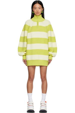SUNNEI Women Casual Dresses - High Neck Over Sweater Dress